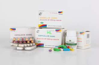 China Ampicillin Capsules 250MG 500MG BP / USP Penicillins Medicines supplier