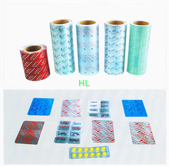 China Cold Formed  Aluminum Alu - Alu Foil Medical Blister Packaging For Tablet , Capsule supplier