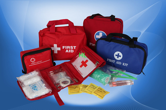 China Outdoor Emergency First Aid Kit CE & FDA OEM Medical Textile Products supplier