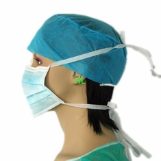 China Disposable Non-Woven Surgical Facemask With Earloop Active Carbon Facemask supplier