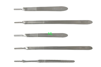 China Disposable Medical Surgical Equipment Surgery Scalpel With Plastic / Stainless Steel Handle supplier