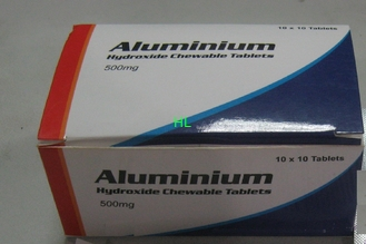 China Aluminium Hydroxide Tablets 300MG 500MG Gastric And Duodenal Ulcer Treatment supplier