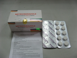 China Metronidazole Tablets 250MG 500M Antibiotic BP / USP Medicines supplier