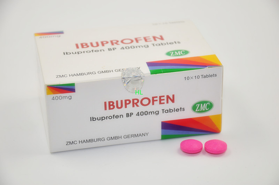 China Ibuprofen Coated Tablets 200MG 400MG Antipyretic - analgesic Medicines distributor