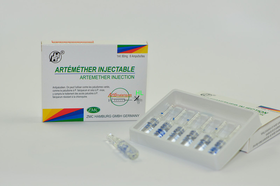 China Artemether Injection 40MG / ML 80MG / ML Anti Malaria Medicine BP / USP distributor