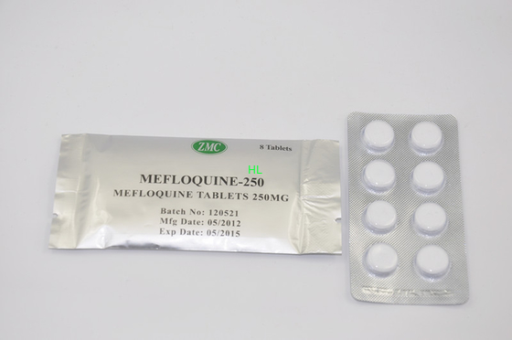 China Mefloquine Tablets 250MG Anti malaria Medicine BP / USP 1*8's / Box distributor