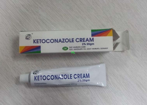 China 2% 20gm Ketoconazole Antifungal Creams / Anti Foot Fungal Cream distributor