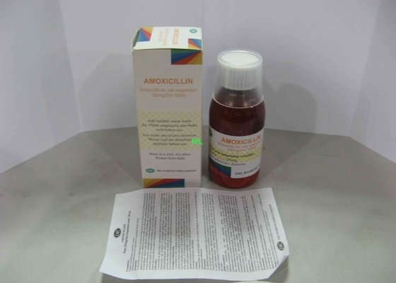 China Ampicillin Dry Suspension 125MG / 5ML 60ML Oral Suspension Drugs distributor