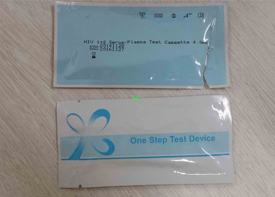 China CE ISO13485 marked HIV 1+2 Rapid Test Kit Serun/Plasma Strip/cassette distributor