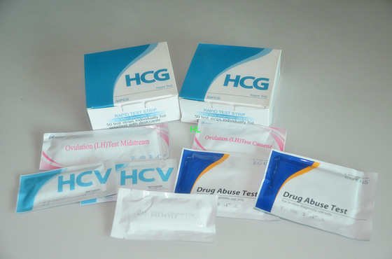 China 10 - 20 Minutes Rapid Test Kits  HCG Strip / Midstream For The Early Detection Of Pregnancy distributor
