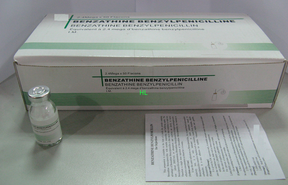 China Benzathine Benzylpenicilline For Injection 2.4M Antibiotic Medicines 50VIALS / BOX distributor
